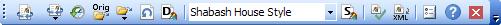 Merops: Home toolbar