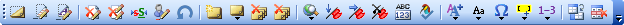 Merops Reviewing toolbar